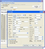 Snapshot of the logbook in the FISTS Log Converter program.  Click for larger image.